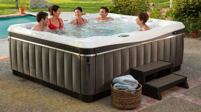the models leisure spas hot tub introducing bay